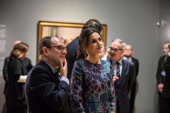 Η Βασίλισσα Λετίσια κατακτά το Λονδίνο: Η κομψή εμφάνιση με απίθανο φόρεμα - εικόνα 4