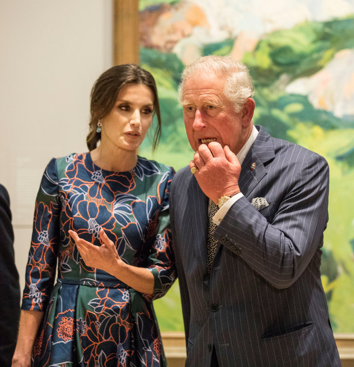 Η Βασίλισσα Λετίσια κατακτά το Λονδίνο: Η κομψή εμφάνιση με απίθανο φόρεμα - εικόνα 5
