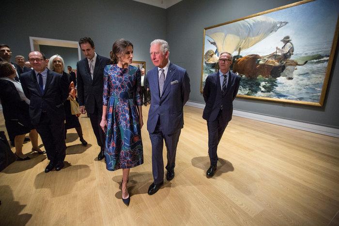 Η Βασίλισσα Λετίσια κατακτά το Λονδίνο: Η κομψή εμφάνιση με απίθανο φόρεμα - εικόνα 6