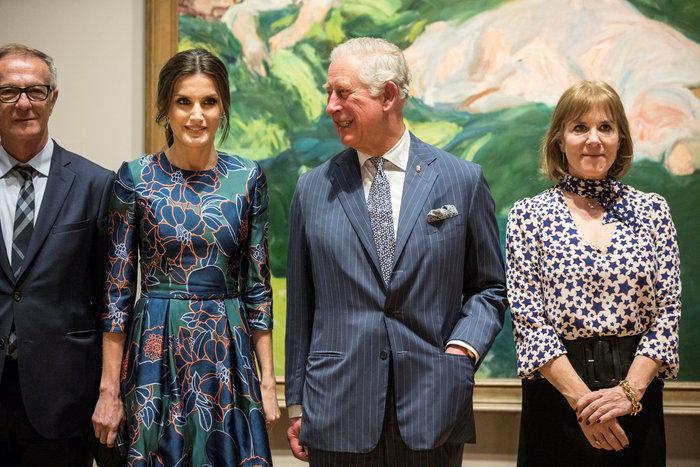 Η Βασίλισσα Λετίσια κατακτά το Λονδίνο: Η κομψή εμφάνιση με απίθανο φόρεμα - εικόνα 8
