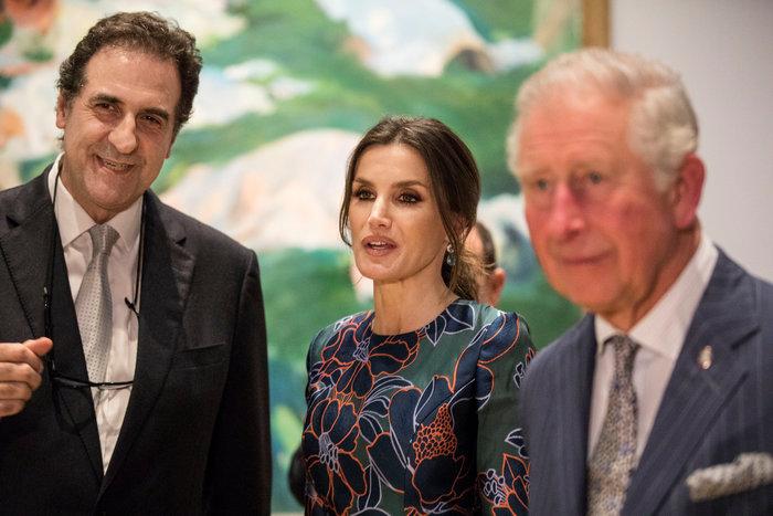 Η Βασίλισσα Λετίσια κατακτά το Λονδίνο: Η κομψή εμφάνιση με απίθανο φόρεμα - εικόνα 9