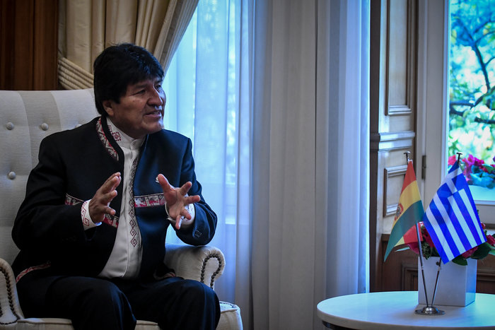 Τσίπρας σε Μοράλες: Μας συνδέουν κοινές αξίες με τη Βολιβία - εικόνα 2