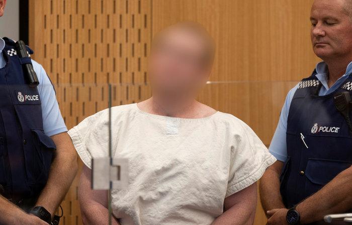 Στο δικαστήριο ο μακελάρης της Ν. Ζηλανδίας με 49 νεκρούς
