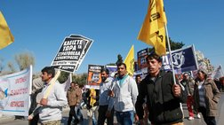 Μαζικό το συλλαλητήριο κατά του ρατσισμού και φασισμού στην Αθήνα