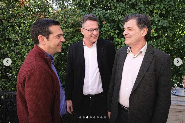 Το τραπέζι του Αλέξη Τσίπρα στους υποψήφιους ευρωβουλευτές στο Μαξίμου - εικόνα 2