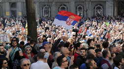 Καζάνι που βράζει η Σερβία: Διαδηλωτές απέκλεισαν το Προεδρικό