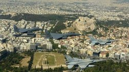 Μαχητικά πάνω από την Αθήνα ενόψει της 25ης Μαρτίου