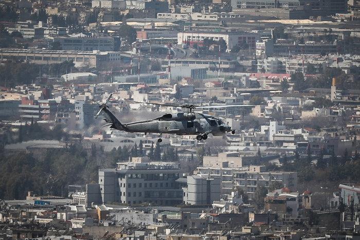 Πτήση μαχητικών πάνω από την Αθήνα ενόψει της παρέλασης της 25ης Μαρτίου - εικόνα 4