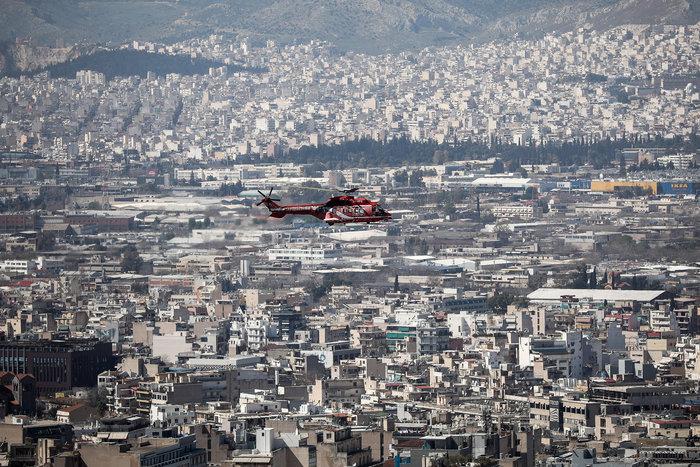 Πτήση μαχητικών πάνω από την Αθήνα ενόψει της παρέλασης της 25ης Μαρτίου - εικόνα 5