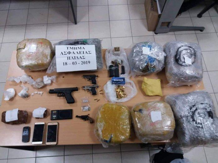 Εξαρθρώθηκε σπείρα διακίνησης ναρκωτικών στην Ηλεία - εικόνα 2