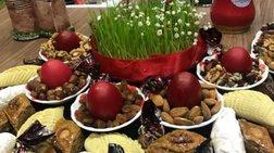 Η Ανοιξη των Αζέρων σε ένα τραπέζι γεμάτο συμβολισμούς