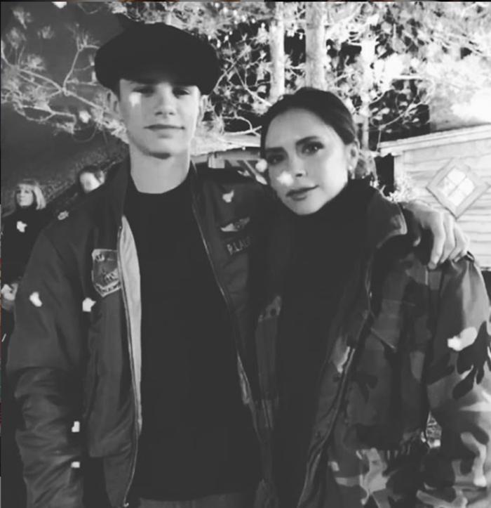 Ο Ρομέο με τη Βικτόρια σε φωτογραφία που έχει αναρτήσει στο λογαριασμό του στο Instagram.
