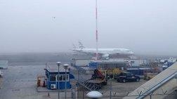 """Προβλήματα στο αεροδρόμιο """"Μακεδονία"""" λόγω πυκνής ομίχλης"""