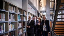 o-pr-paulopoulos-egkainiase-ti-bibliothiki-tis-filosofikis-sxolis-tou-ekpa