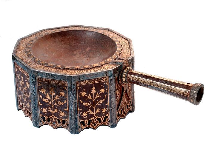 Θυμιατήριο από τη Μέκκα/Οθωμανική δυναστεία, 1649 μ.Χ. / Εθνικό Μουσείο Ριάντ
