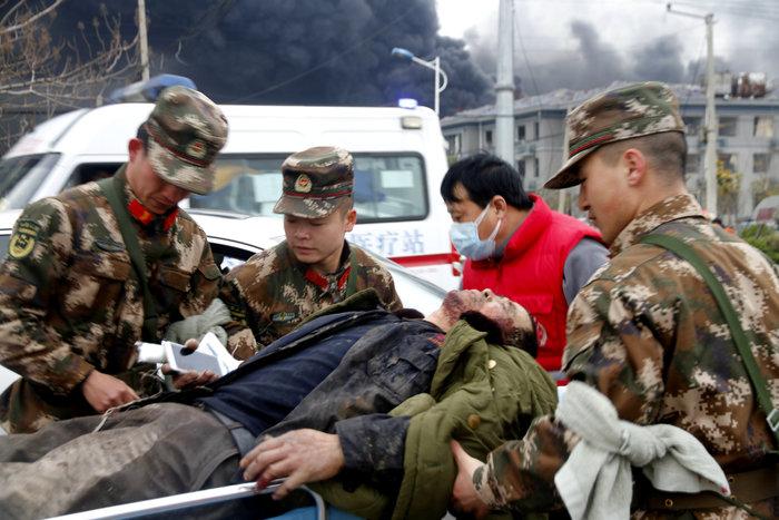 Iσχυρή έκρηξη σε εργοστάσιο χημικών στην Κίνα - εικόνα 2