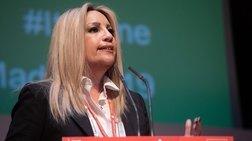 Γεννηματά: Ζήτησε ψήφο Αλλαγής για την Ευρώπη και την Ελλάδα