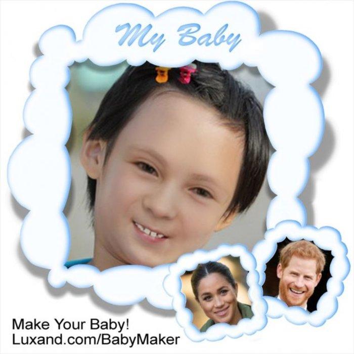 Έτσι θα μοιάζει το βασιλικό μωρό του Χάρι και της Μέγκαν [Εικόνες] - εικόνα 2
