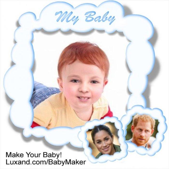 Έτσι θα μοιάζει το βασιλικό μωρό του Χάρι και της Μέγκαν [Εικόνες] - εικόνα 3