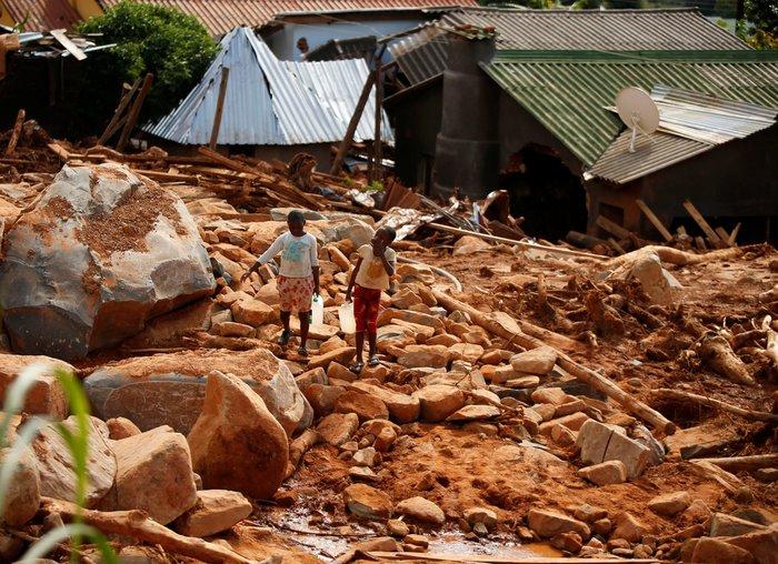 Μοζαμβίκη: Στους 446 ανήλθαν οι νεκροί - Εικόνες καταστροφής - εικόνα 3