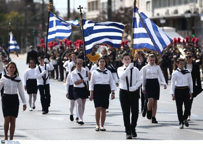 Εντυπωσιακή η μαθητική παρέλαση στην Αθήνα - Φωτογραφίες - εικόνα 2