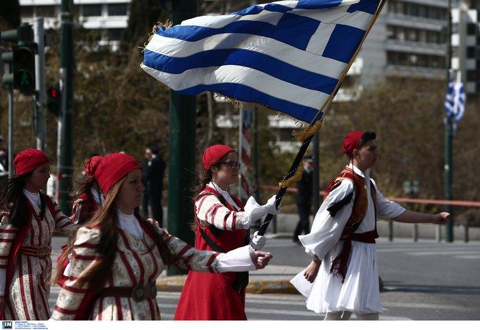 Εντυπωσιακή η μαθητική παρέλαση στην Αθήνα - Φωτογραφίες - εικόνα 5