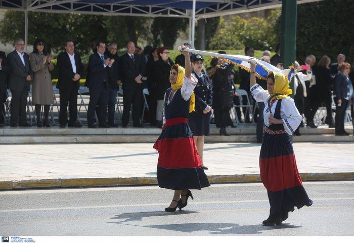 Εντυπωσιακή η μαθητική παρέλαση στην Αθήνα - Φωτογραφίες - εικόνα 7