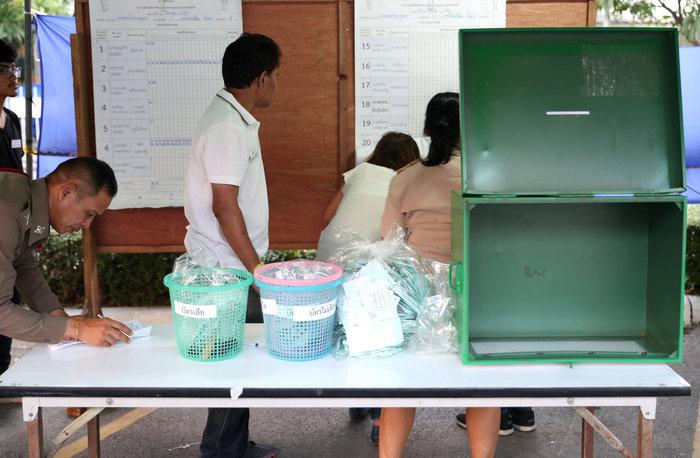 Ταϊλάνδη: Έκλεισαν οι κάλπες των πρώτων, μετά το πραξικόπημα, εκλογών - εικόνα 3
