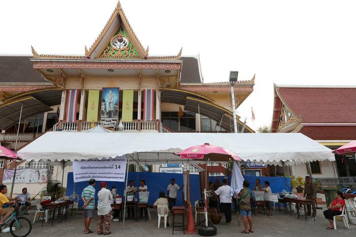 Ταϊλάνδη: Έκλεισαν οι κάλπες των πρώτων, μετά το πραξικόπημα, εκλογών - εικόνα 5