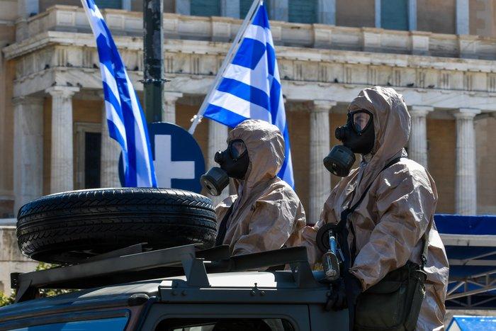 Εντυπωσίασαν οι Ένοπλες Δυνάμεις στην παρέλαση της Αθήνας - εικόνα 9