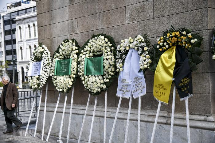 Το τελευταίο αντίο στον Θανάση Γιαννακόπουλο - εικόνα 5