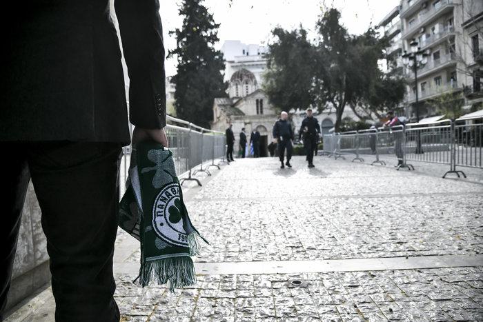 Το τελευταίο αντίο στον Θανάση Γιαννακόπουλο - εικόνα 2