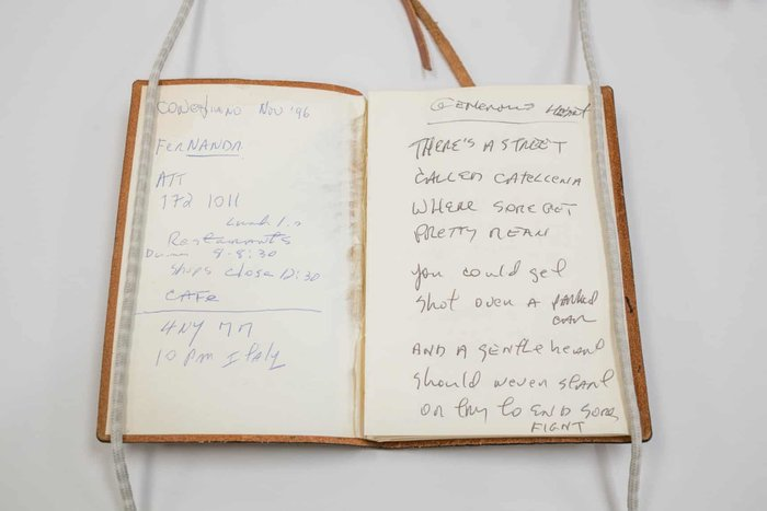Μέσα στον κόσμο των αρχείων του Λου Ριντ στη Νέα Υόρκη