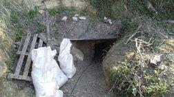 Έψαχναν για αρχαία και άνοιξαν σήρραγα 30 μέτρων κάτω από Μονή στις Σέρρες