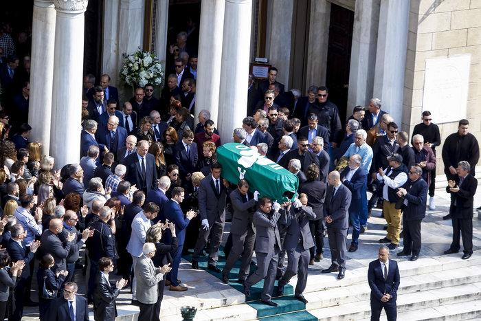 Τελευταίο «αντίο» στον Θ. Γιαννακόπουλο όπως ο ίδιος το ζήτησε - εικόνα 14