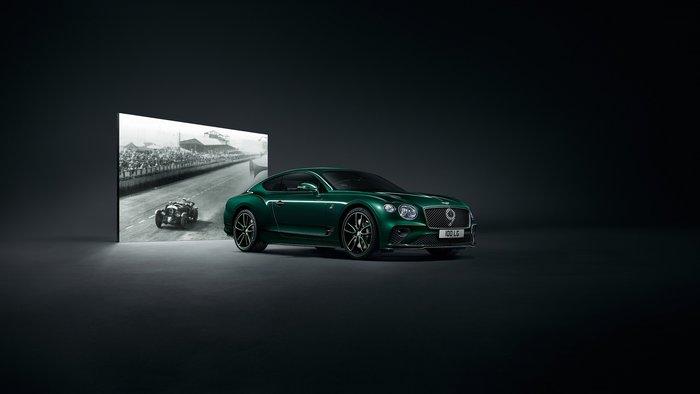 Η Bentley Continental GT Number 9 έχει διακόπτες από χρυσό!