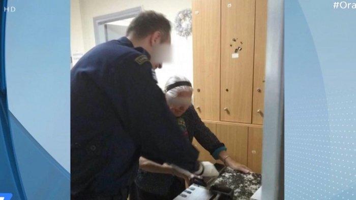 90χρονη: «Ευχαριστώ τον κόσμο, θα πάω να ανάψω ένα κεράκι»