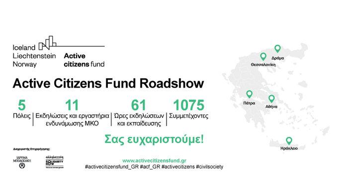 Ολοκληρώθηκε το roadshow για το πρόγραμμα Active Citizens Fund - εικόνα 5