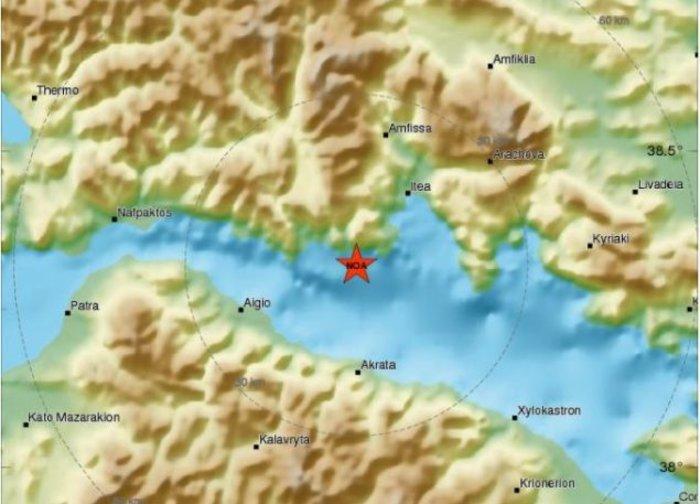 Σεισμός 5,3 Ρίχτερ στον Κορινθιακό Κόλπο, αισθητός στην Αττική