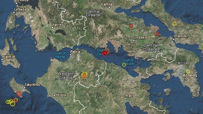 Σεισμός 5,3 Ρίχτερ στον Κορινθιακό Κόλπο, αισθητός στην Αττική - εικόνα 2