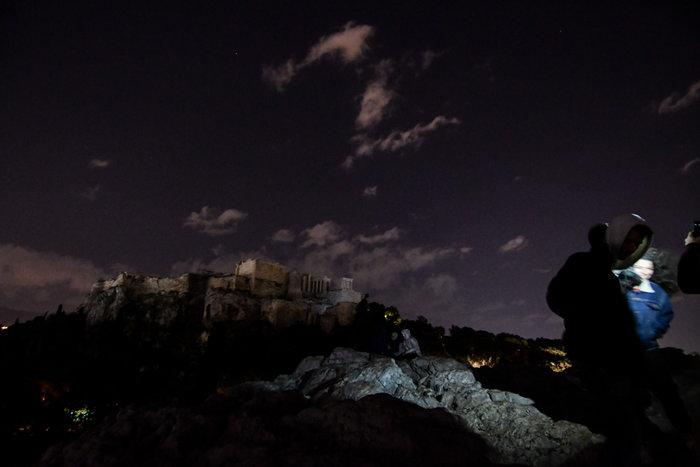 """Στο σκοτάδι η Ακρόπολη για την ¨Ώρα της Γης"""" - εικόνα 2"""