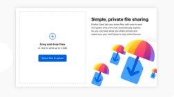 Firefox: Xτυπάει wetransfer και chrome, με υπηρεσία μεταφοράς αρχείων