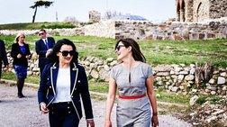 Nέες φωτογραφίες από την χαλαρή βόλτα της Μπαζιάνα με την Ζάεβα