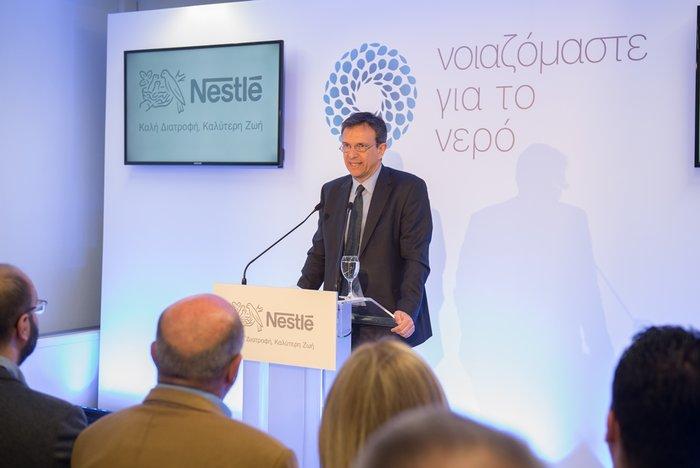 ο Πρόεδρος και Διευθύνων Σύμβουλος της Nestlé Ελλάς Νίκος Εμμανουηλίδης