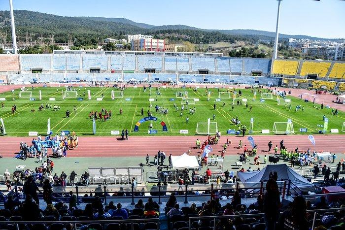Φεστιβάλ Αθλητικών Ακαδημιών ΟΠΑΠ: Τα παιδικά χαμόγελα φώτισαν το στάδιο