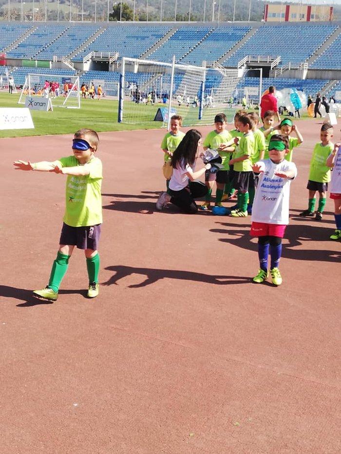 Φεστιβάλ Αθλητικών Ακαδημιών ΟΠΑΠ: Τα παιδικά χαμόγελα φώτισαν το στάδιο - εικόνα 2