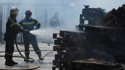 Σέρρες: Υπό έλεγχο η φωτιά στο εργοστάσιο ζαχαροπλαστικής
