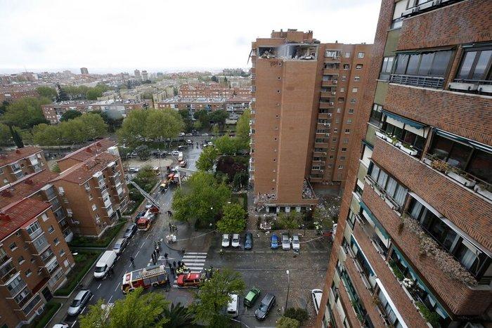 Έκρηξη σε κτίριο στη Μαδρίτη με τραυματίες - Φωτό & βίντεο