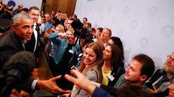 Εκκληση Ομπάμα στους νέους να αναλάβουν δράση για το κλίμα