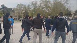 Οπαδοί του ΠΑΟΚ έδιωξαν τον Ψωμιάδη από συγκέντρωσή τους για τη Μακεδονία